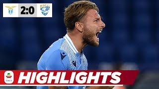 Überflieger Immobile knackt Lewa | Lazio Rom - Brescia 2:0 | Highlights | Serie A
