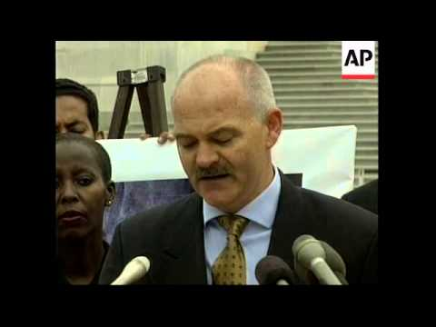 USA: 1994 RWANDAN GENOCIDE DISCUSSED AT PRESS CONFERENCES