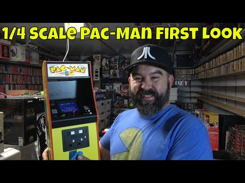 New Pac-Man Arcade That Can Fit in Any Game Room!