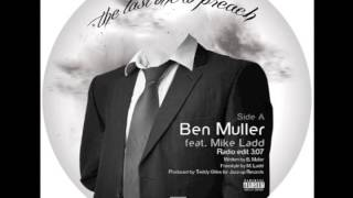 Ben Muller feat. Mike Ladd - The Last One To Preach (Original Radio Edit)