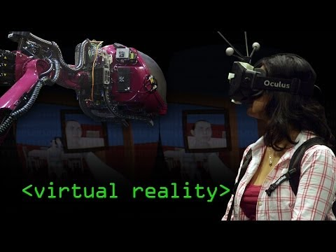 In Flight Virtual Reality - Computerphile
