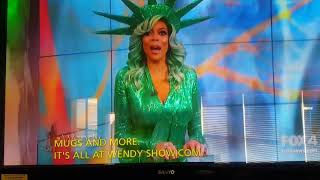 wendy williams passes out on live tv on halloween