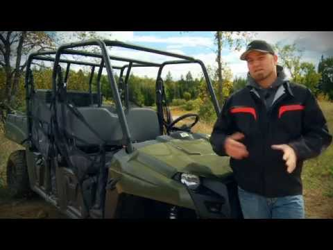 2011 Polaris Ranger Crew Test Ride