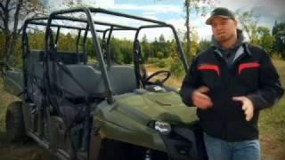2011 Polaris Ranger Crew Test Ride