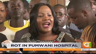 Workers protest suspension of managers in Pumwani national hospital