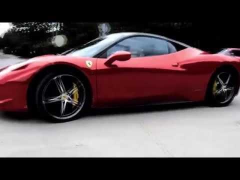 Ferrari 458 Italia Start-up & Exhaust Sound