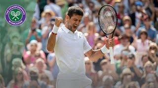 HSBC Play of the Day - Novak Djokovic | Wimbledon 2019