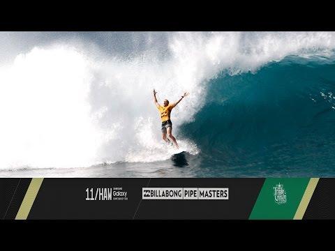 Kelly Slater vs. Mick Fanning vs. John John Florence - Billabong Pipe Masters 2015