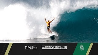 Kelly Slater vs. Mick Fanning vs. John John Florence - Billabong Pipe Masters 2015
