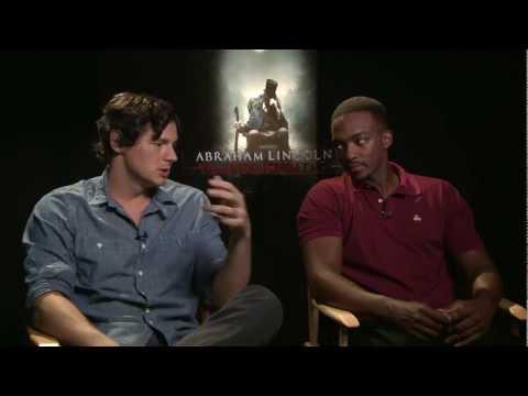 Benjamin Walker & Anthony Mackie Talk 'Abraham Lincoln: Vampire Hunter'