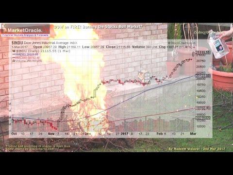 Dow on Fire! Is Trump Delirium Burning the Stocks Bull Market?