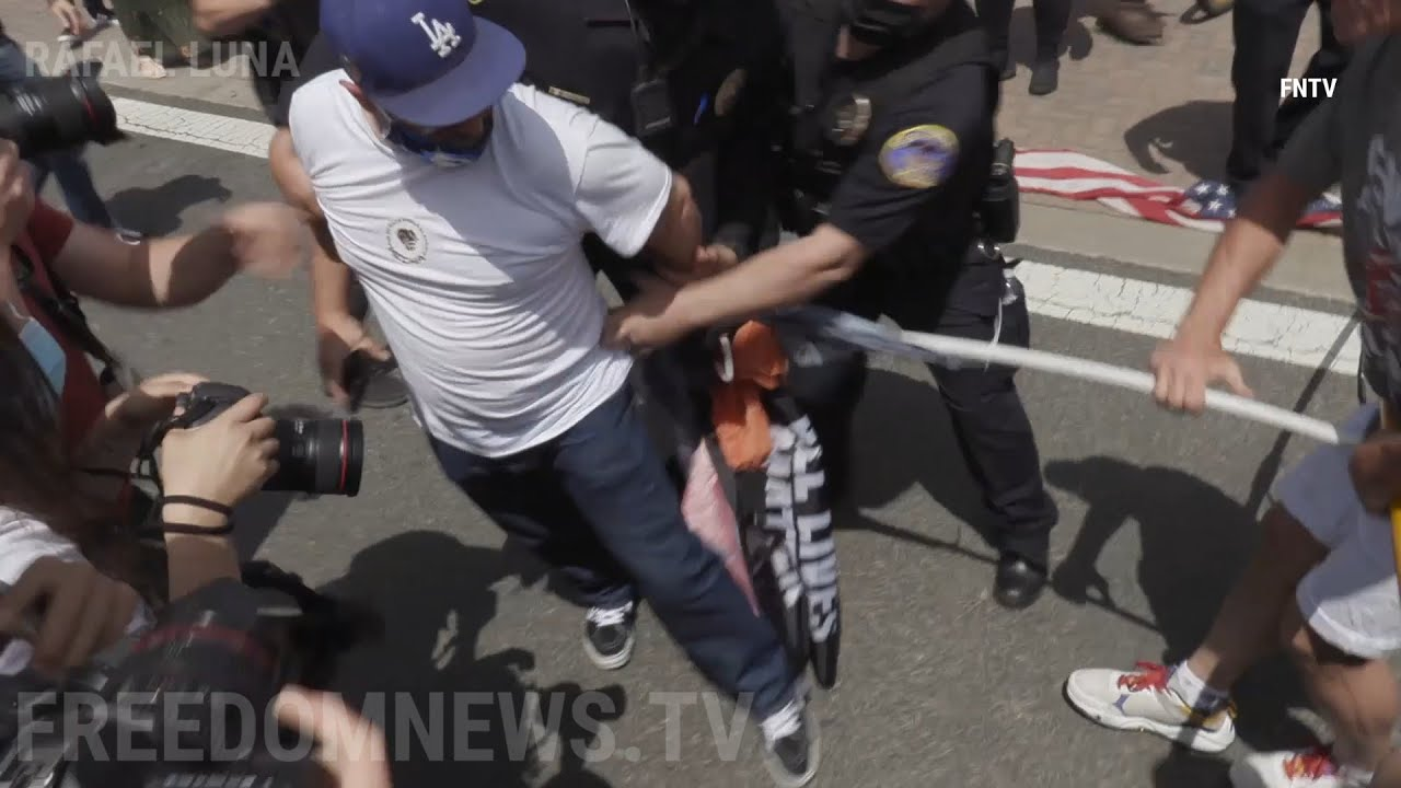 Arrests Made Ahead of 'White Lives Matter' Rally in Huntington Beach