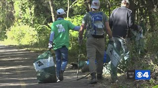 'People throw away the weirdest things' More than 7 tons of trash picked up at River Des Peres