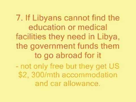 16 Facts About Gaddafi's Libya That Is Unknown To The World Outside