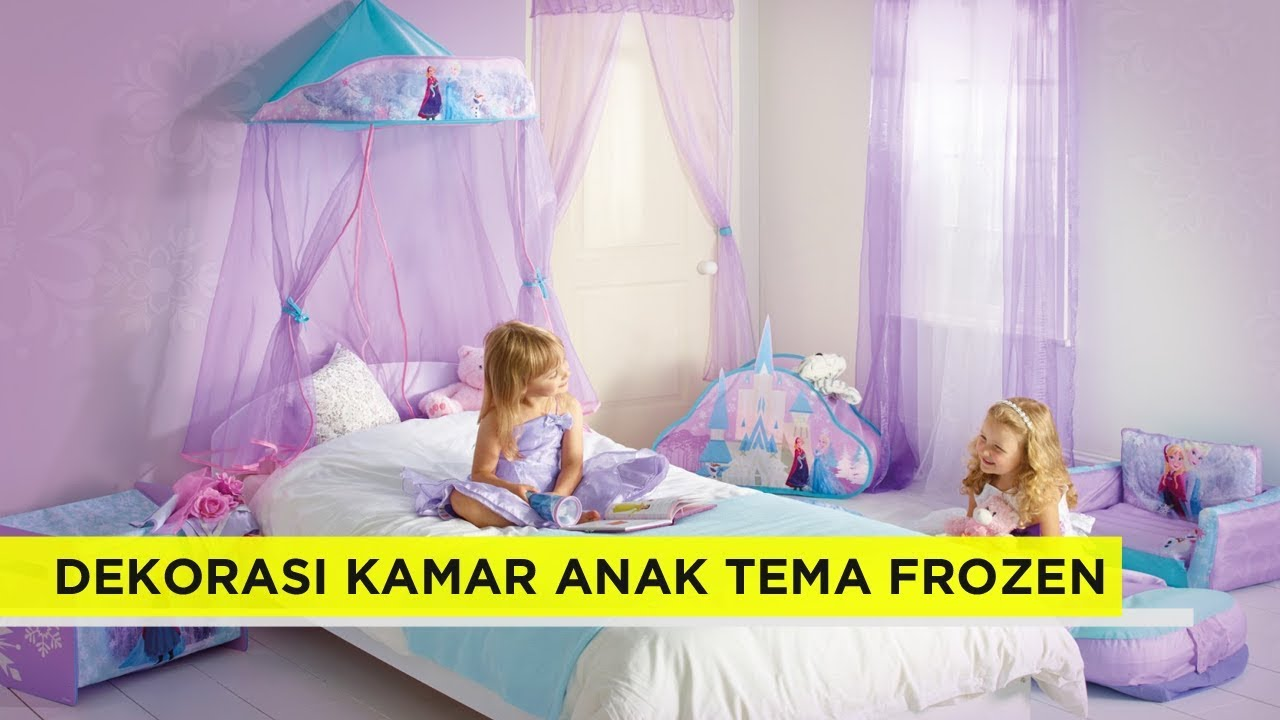 19 Ide Dekorasi Kamar Tidur Anak Minimalis Bertema FROZEN | ROCKY MEN - YouTube