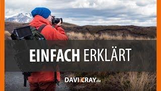⭐ FOTOGRAFIEREN lernen ⭐📷 ISO, Blende, Belichtungszeit u.v.m. - EINFACH erklärt I David Cray