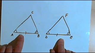 Triangle Congruence - SSS, SAS, ASA and AAS 128-2.16