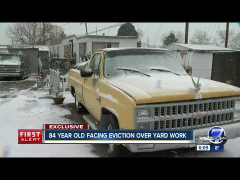 Commerce City elderly woman facing eviction says living in van only option