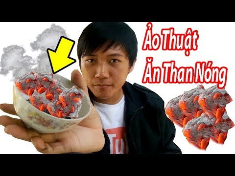 StrengthLee Vlogs - Ăn Than Nóng Kinh Dị | Eat Hot Coal