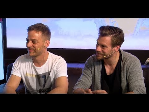 Ken Duken & Tom Wlaschiha ¦ Berlin Falling interview with Rocket Beans TV