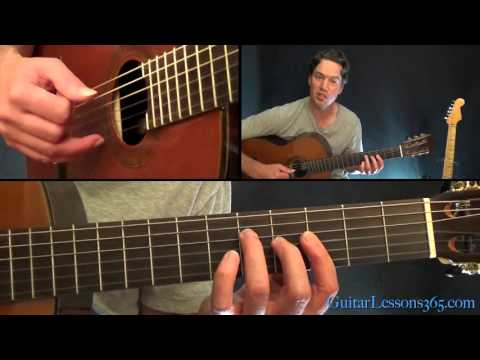 Unchained Melody Guitar Lesson - The Righteous Brothers