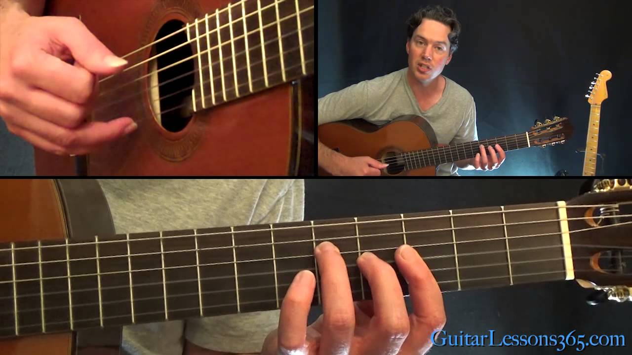 Unchained Melody Guitar Lesson The Righteous Brothers Youtube