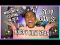 MY 2019 GOALS! Body Goals, Buying a New House + What We're Leaving in 2018!