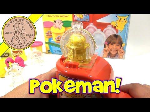 Play-Doh Pokemon Character Maker Playset # 22721, 1999