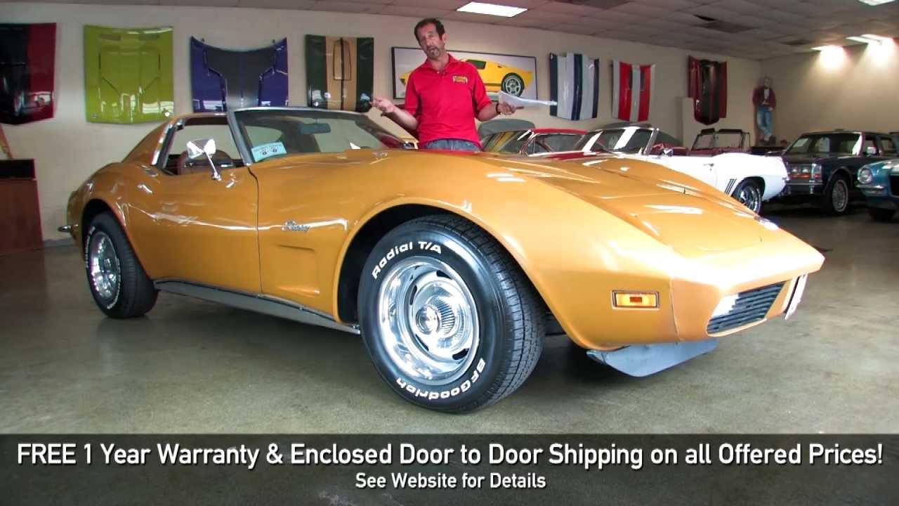 Picture of 1973 chevrolet corvette coupe exterior - 1973 Chevrolet Corvette 454 Stingrayfor Sale With Test Drive Driving Sounds And Walk Through Video Youtube