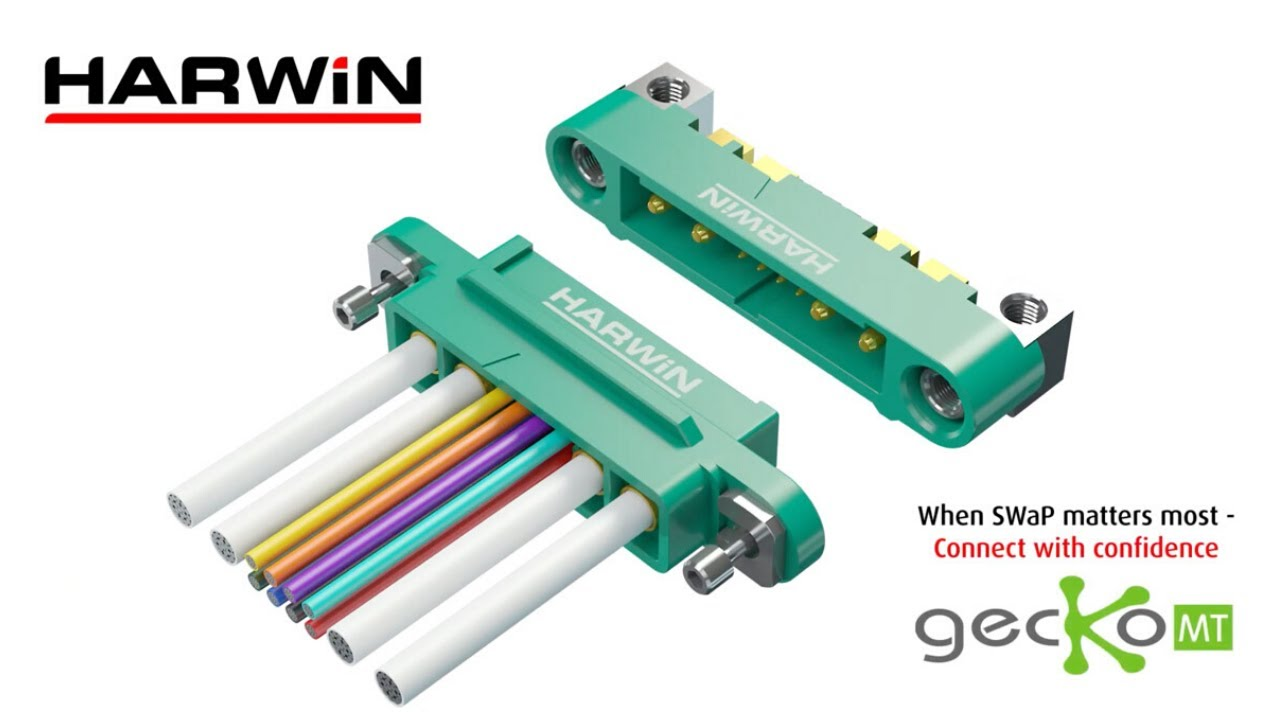 Youtube video for Gecko-MT connector – Lighter than a playing card!