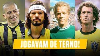 Os 10 Jogadores Mais CLASSUDOS da História • Brasileiros