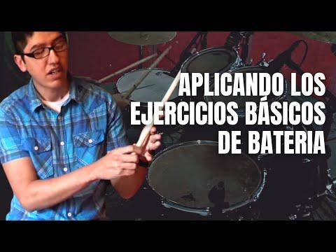 Aplicacion de los ejercicios basicos en la bateria by Pepe Navarro