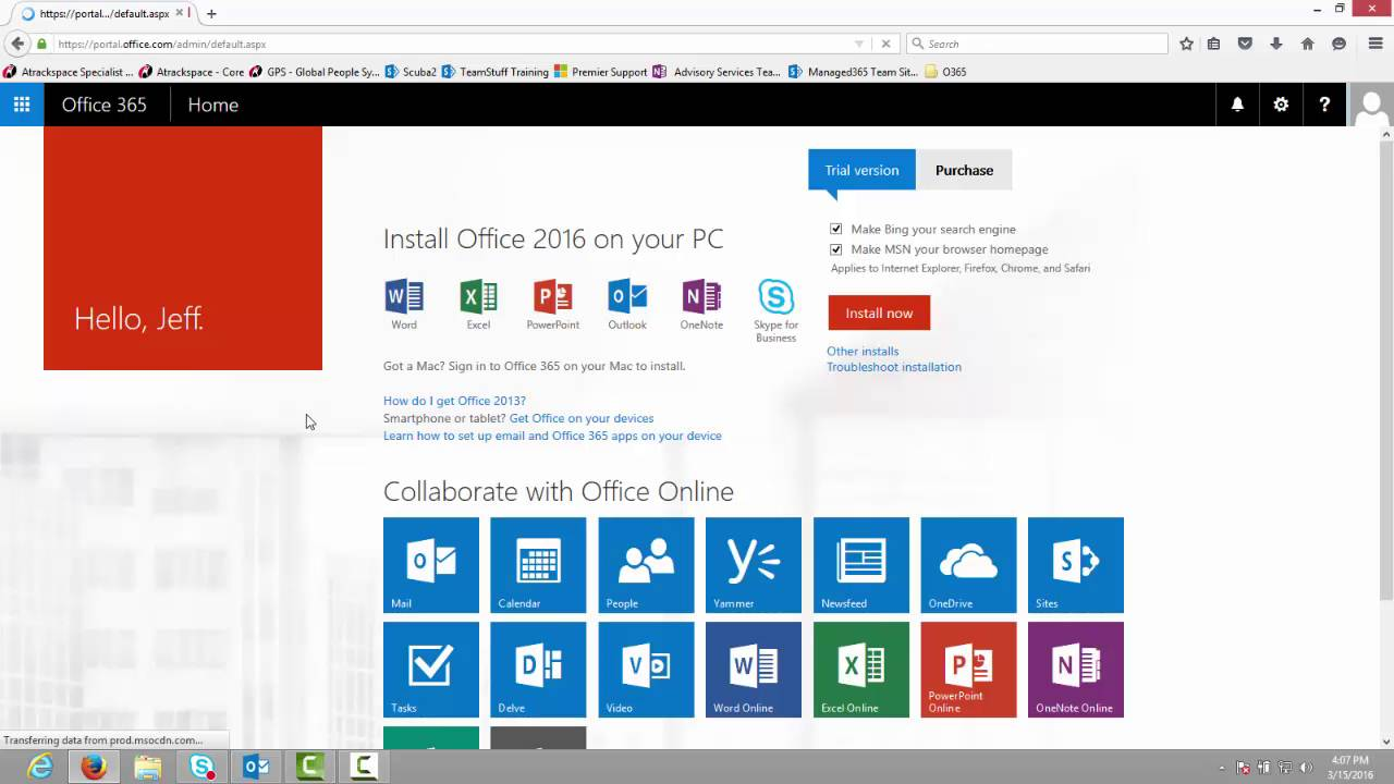 How Do I Remove The Store Tile From My Office 365 Tenant?