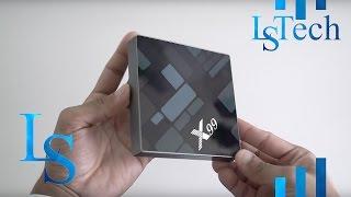4k android tv box   fxexblin x99 s912   unboxing