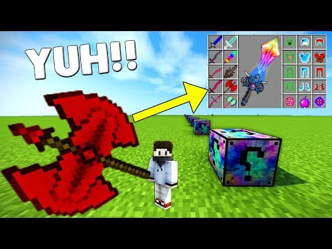 EN ŞANSLI KARIŞIK ŞANS BLOKLARI - Minecraft