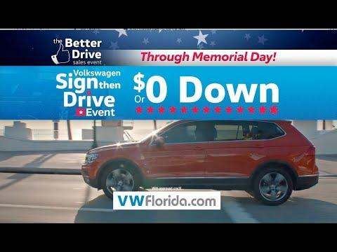 Volkswagen South Florida - Better Drive Memorial Day - Tiguan