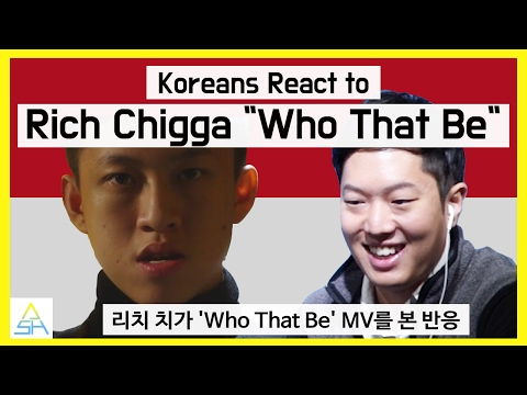 """Koreans React to Indonesian Song : Rich Chigga """"Who That Be"""" [ASHanguk]"""