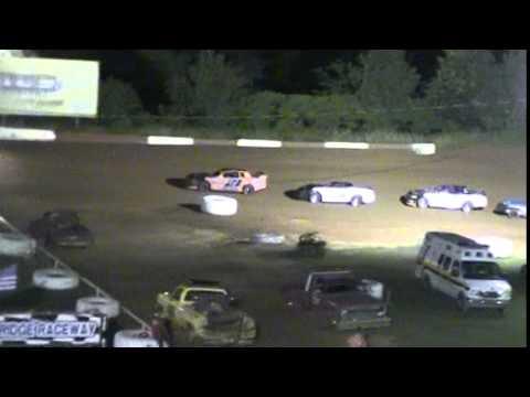 Crowley's Ridge Raceway 6/20/15 #21 Chris Sims Street Stock Feature Race