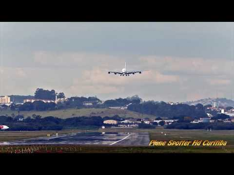 Airbus A380 Emirates- Pouso Aeroporto São Paulo (GRU)- 27R