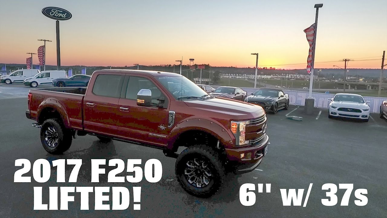 2017 F250 Lifted >> Driving 2017 Ford F250 Lifted Black Widow Southern Comfort! - YouTube