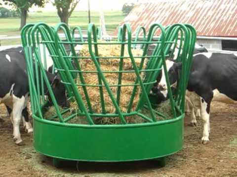 J Amp L Haysavers Cow Feeder 8521 Youtube