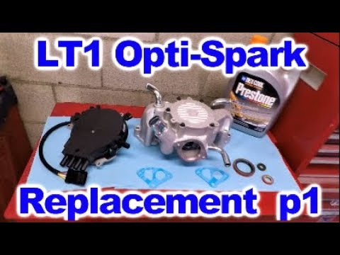 LT 1 Opti Spark Distributor and Water Pump Replacement Part One Optispark Wiring Diagram on