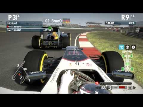 F1 2012 l Shanghai l PC Online 25% l Formel1-Racer.de l Sauber Ferrari