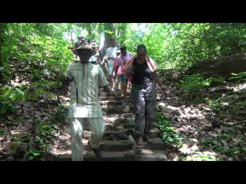 Welcome to Fuller Waterfalls in Kintampo - Ghana Tour May 2017
