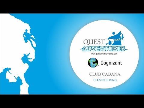 Cognizant Team Building activities at Club Cabana Bangalore with Quest Adventures