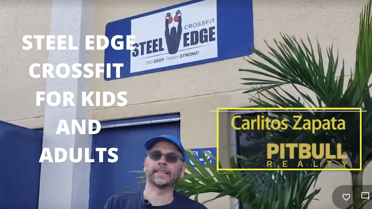 STEEL EDGE CROSSFIT  FOR KIDS AND ADULTS 👶👨‍🦳️