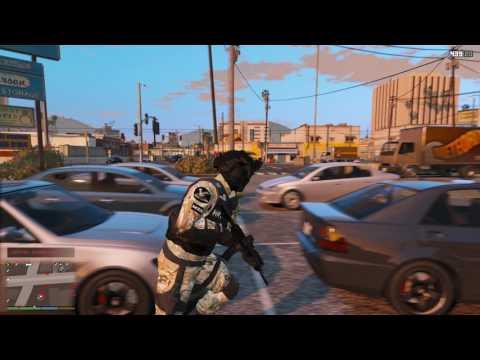 GTA V | LSPDFR - Special Tactics - Ep #26 - FBI/S.W.A.T. Unit