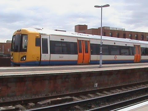Trains at New cross