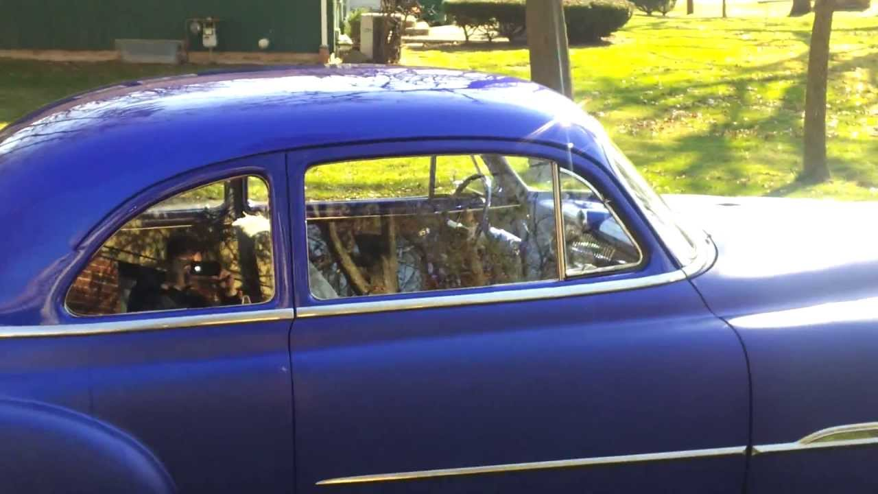 Coupe 1951 chevy sport coupe : Bagged 1951 Chevy sport coupe de-luxe - YouTube