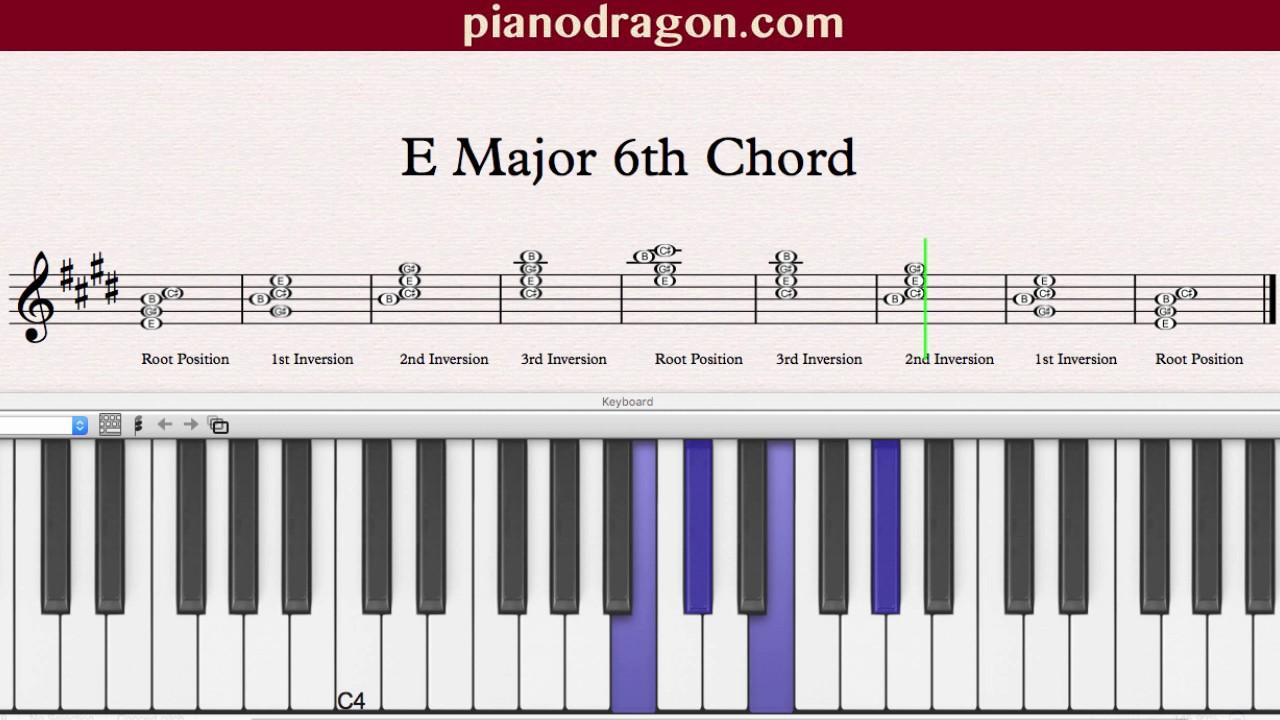 E major 6th chord youtube hexwebz Gallery